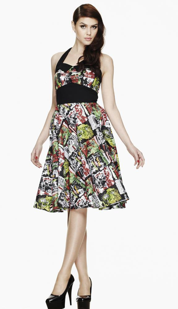 Hell Bunny B-Movie 50's Prom Dress