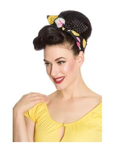 Hell Bunny Tutti Frutti Rockabilly Swing Jive hair Tie