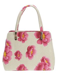 Poisoned Blossom Bowling Bag Cream