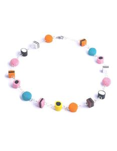 Delphi's Delights Liquorice Allsorts Necklace