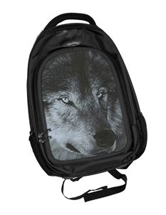 Dark Wolf 3D Lenticular Backpack Rucksack