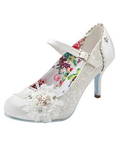 Joe Browns Hitched Vintage Style Wedding Shoe
