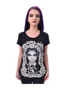 Heartless Over Your Dead Body Wednesday Addams T-Shirt