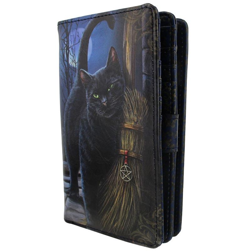 Nemesis Now A Brush With Magick Cat Purse Lisa Parker
