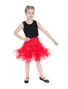 H&R London Kids Petticoat In Red