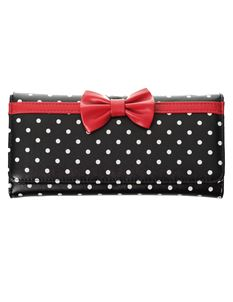 Banned Retro Carla Polka Dot Rockabilly Wallet Purse