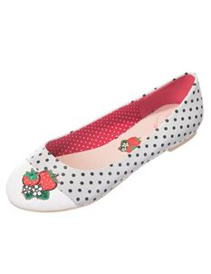 Dancing Days Isabella Strawberry Polka Dot Pumps Shoe
