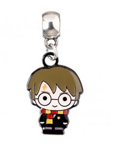 Harry Potter Silver Plated Chibi Charm