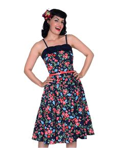 Campbell Crafts 1950's Limited Edition Floral Dress