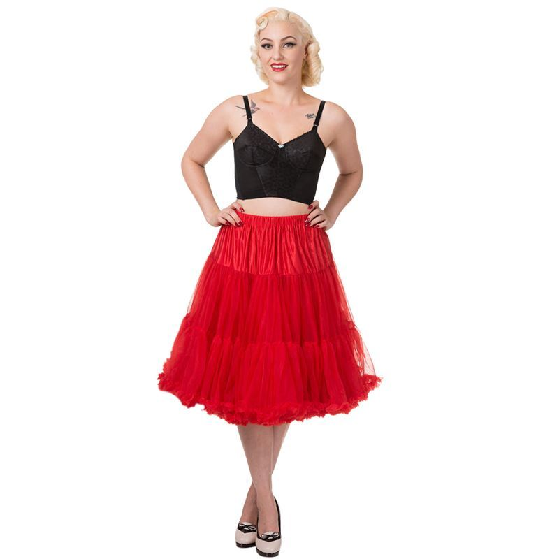 "Dancing Days Lifeforms 50s Style 25""-27"" Long Petticoat"