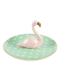 Sass And Belle Tropical Flamingo Trinket Dish