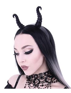 Restyle Diabolical Maleficent Horns Gothic Headband