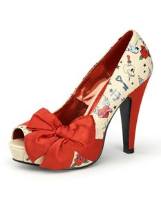 Pin Up Couture Bettie 13 Heels Size-UK-3