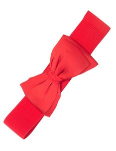 Banned Bella 50s Retro Elasticated Bow Belt