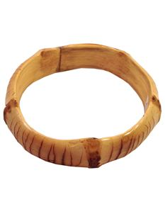 Thick Natural Bamboo Bangle By Voodoo Betty