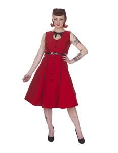 Whispering Ivy 50's Vintage Style Button Dress