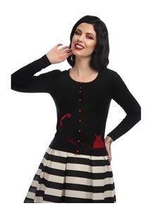 Collectif Jo Telephone Cardigan