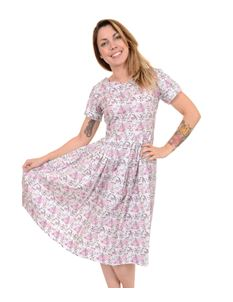 Run & Fly Vintage Style Pleated Tea Pot Party Dress