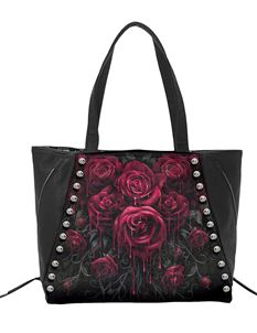 Spiral Direct Blood Rose Tote Alternative Bag