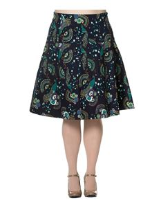 Banned Apparel Proud Peacock Skirt