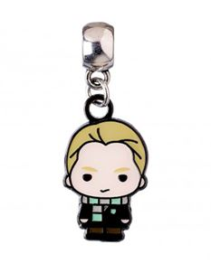 Harry Potter Draco Malfoy Chibi Silver Plated Charm