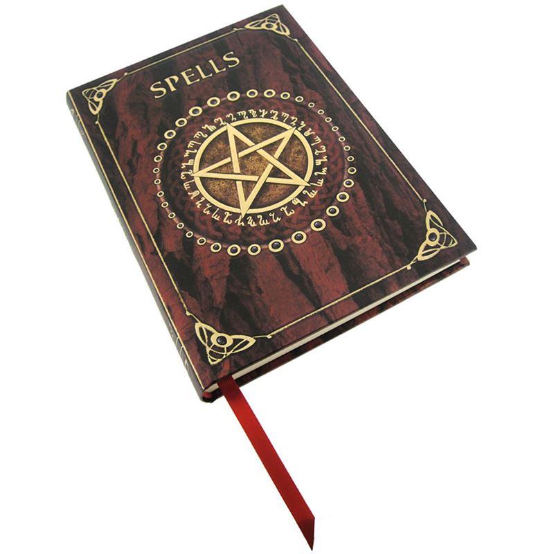 Nemesis Now Luna Lakota Embossed Red Purple Spell Book