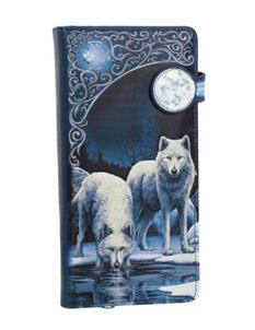 Warriors of Winter Wolf Embossed Purse 18.5cm