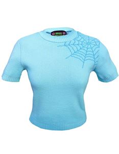 Miss Fortune Ice Maiden Spider Web Bobbie Jumper
