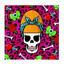 Snugbat Beehive Skull Greetings Card
