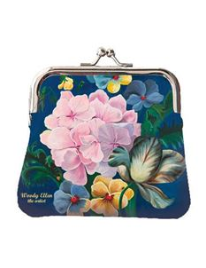 Woody Ellen Eden Floral Retro Coin Purse