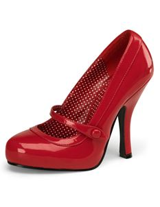 Pleaser Cutiepie 02 Patent Mary Jane Shoes
