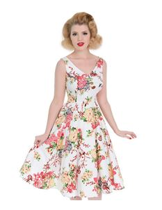 Hearts And Roses Vintage Paradise Swing Floral Dress