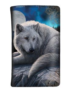 Nemesis Guardian Of The North Wolf Purse By Lisa Parker