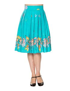 Dancing Days Sophia 1950s style Mermaid pleated skirt