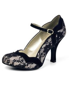 Ruby Shoo Imogen Lace Occasion Party Shoes Heels