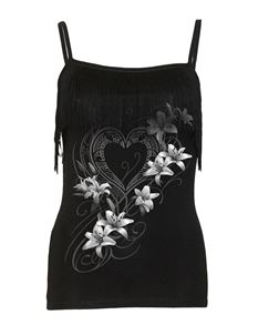Spiral Direct Pure of Heart Tassel Camisole Vest Top