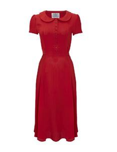 Dorothy Dress Red - The Seamstress of Bloomsbury