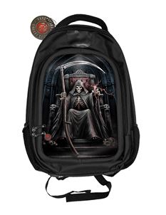Anne Stokes 3D Time Waits Reaper Alternative Back Pack