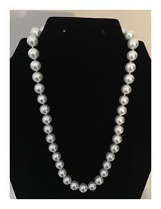 Collectif Dainty Ivory Pearl 50s Style Necklace