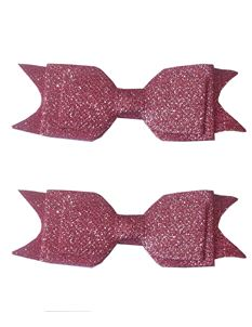 Said Lucy Glitter Bows In pink
