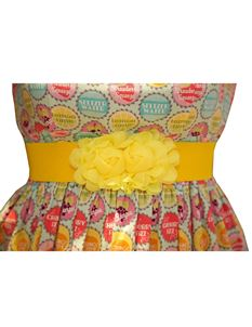 Silly Old Sea Dog Yellow Flower Belt