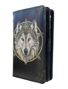 Nemesis Now Wild One Wolf Purse By Lisa Parker