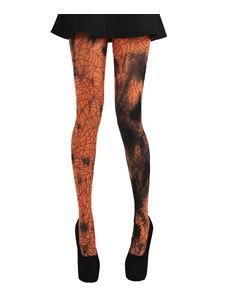 Pamela Mann Webber Tie Dye Tights Orange Tights