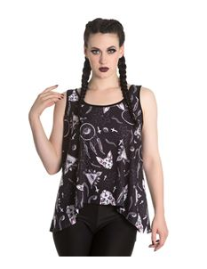 Spin Doctor Jas Sphynx Cat Alternative Vest Top