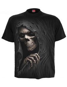 Spiral Direct Mens Grim Reaper Black T Shirt