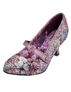 Joe Browns Marietta Purple Floral Shoe