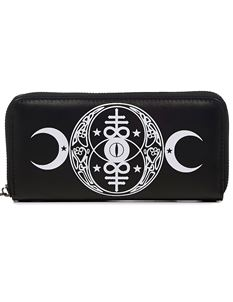 Banned Alternative Moon Phase Wallet Purse