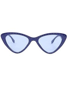 Collectif Claudia 50's Blue Cat Eye Shape Sunglasses