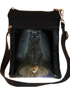 Nemesis Now His Masters Voice Cat Ouija Board Bag
