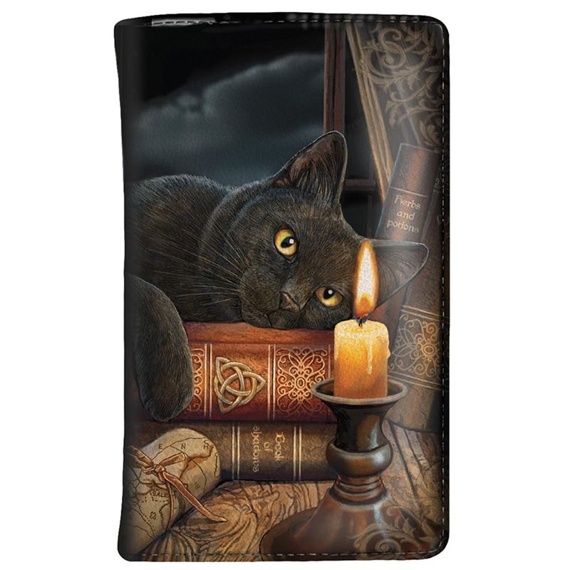 Nemesis Now The Witching Hour Cat Purse by Lisa Parker
